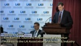 LDR's Tim Barfield discusses tax reform at LABI annual meeting - LDR's Tim Barfield discusses tax reform at LABI annual meeting